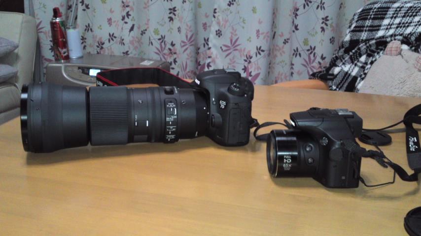 カミサンの新しいカメラ二台